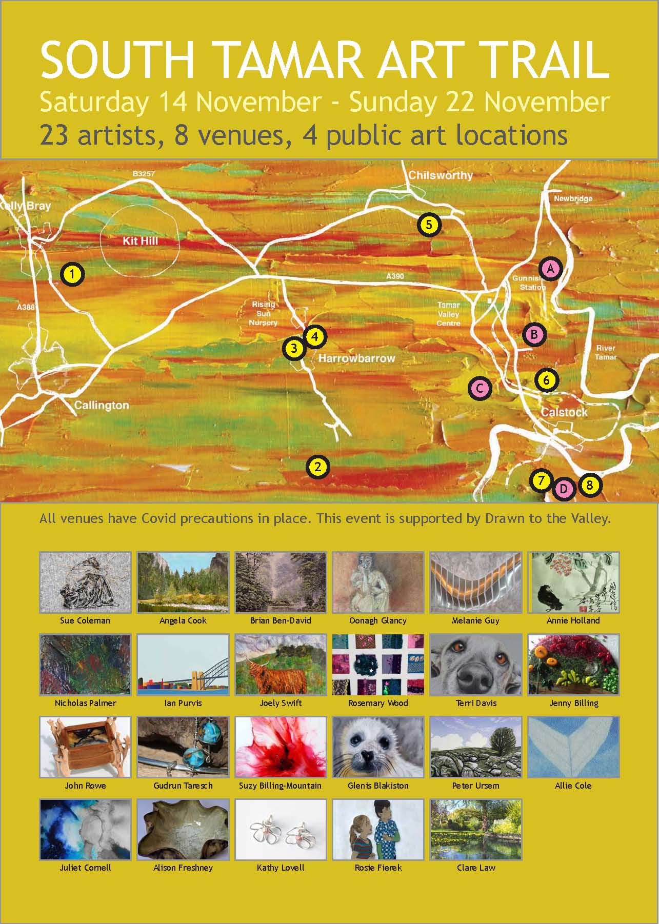 trail a4 poster